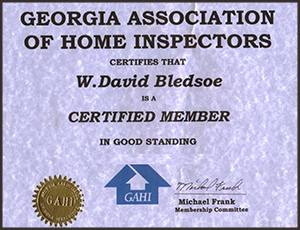 GA Association of Home Inspectors